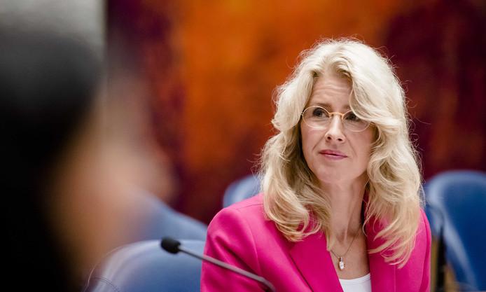 Mona Keijzer eerder dit jaar in de Tweede Kamer