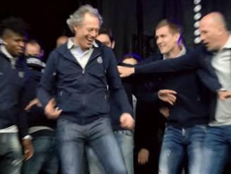 """Preud'homme danst en haalt uit: """"Ocharme RSCA, ze mogen ook eens winnen"""""""
