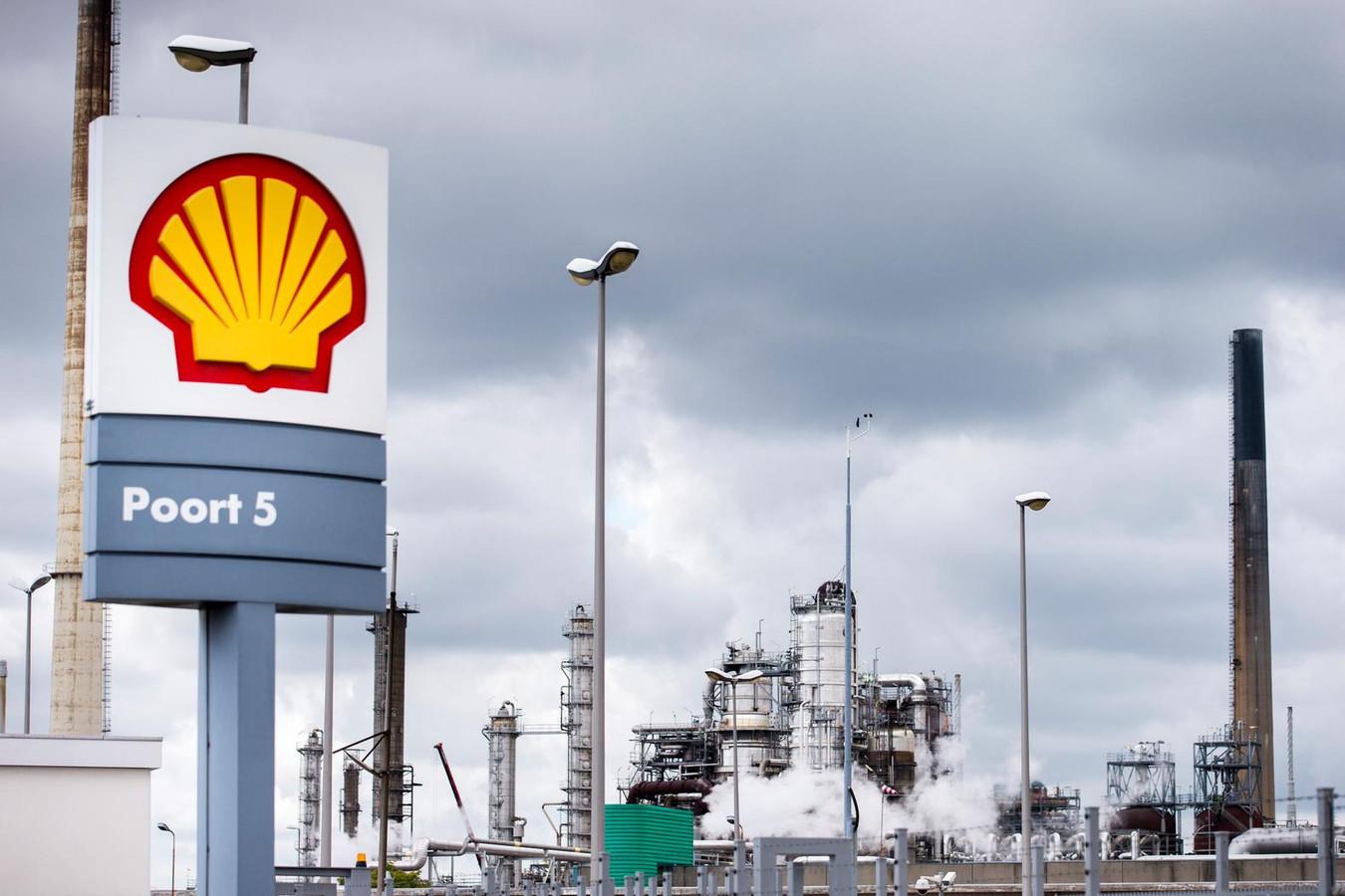 Raffinaderij Shell Pernis, de grootste raffinaderij van Europa en een van de grootste van de wereld.