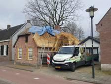 Nieuw rieten dak voor wevershuisje Heemkunde Goirle