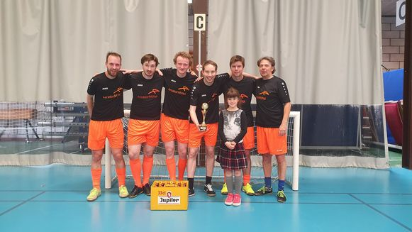 Wezelcup Wetteren : het winnende team
