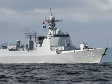 Nederland escorteert oorlogsvloot China richting Rusland