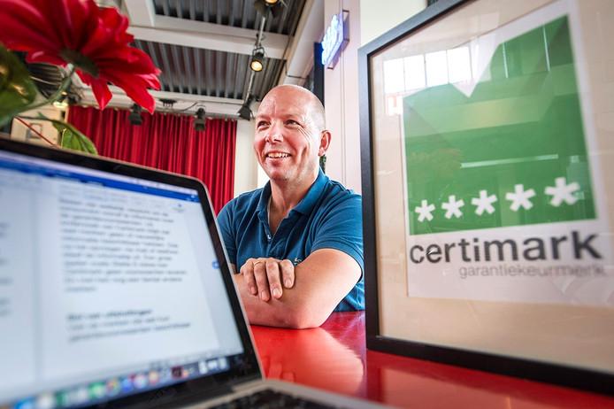 """Stephan Bosman van Certimark, """"Verkopen kan iedereen, service verlenen is lastiger"""""""