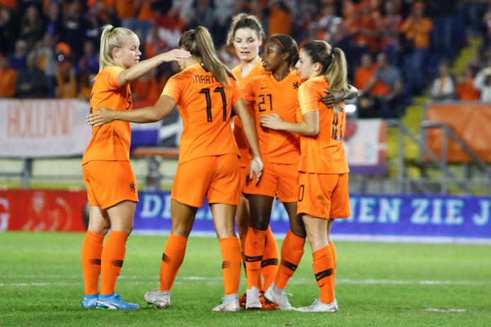 Oranje won in de vorige ronde van de play-offs van Denemarken.
