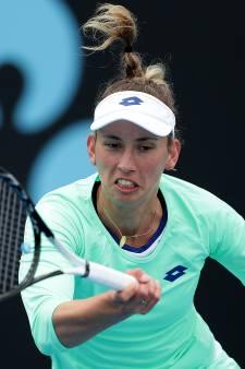 Mertens loopt derde titel in Hobart mis