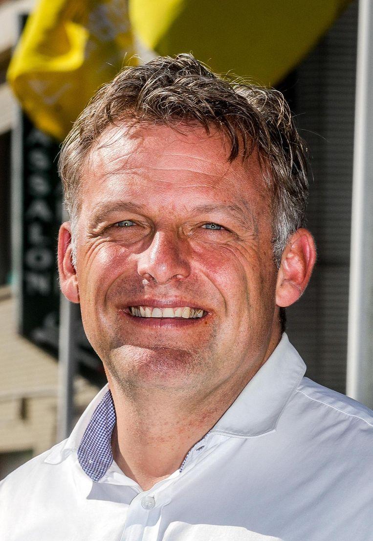 Steve Vandenberghe, plaats twee op de Vlaamse lijst.