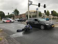 Scooterrijder gewond na aanrijding Apeldoorn