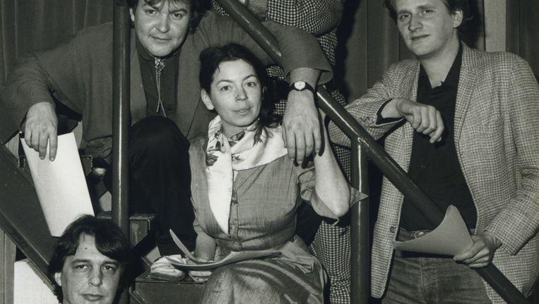 Borát was van 1984 tot 1989 op de VPRO-radio te horen Beeld Hoorspelkern