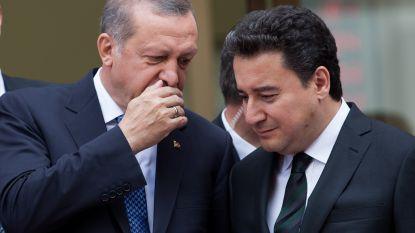 Voormalige rechterhand Erdogan keert AKP rug toe en wil eigen partij oprichten