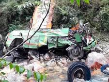 Accident de bus dans l'Himalaya: au moins 42 morts