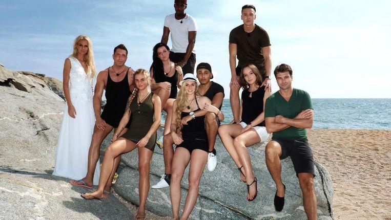 De deelnemers van het negende seizoen van Temptation Island Beeld RTL 5