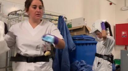 """Verpleegster filmt situatie op spoedafdeling Jan Palfijn: """"Ook jonge mensen worden hier binnengebracht"""""""