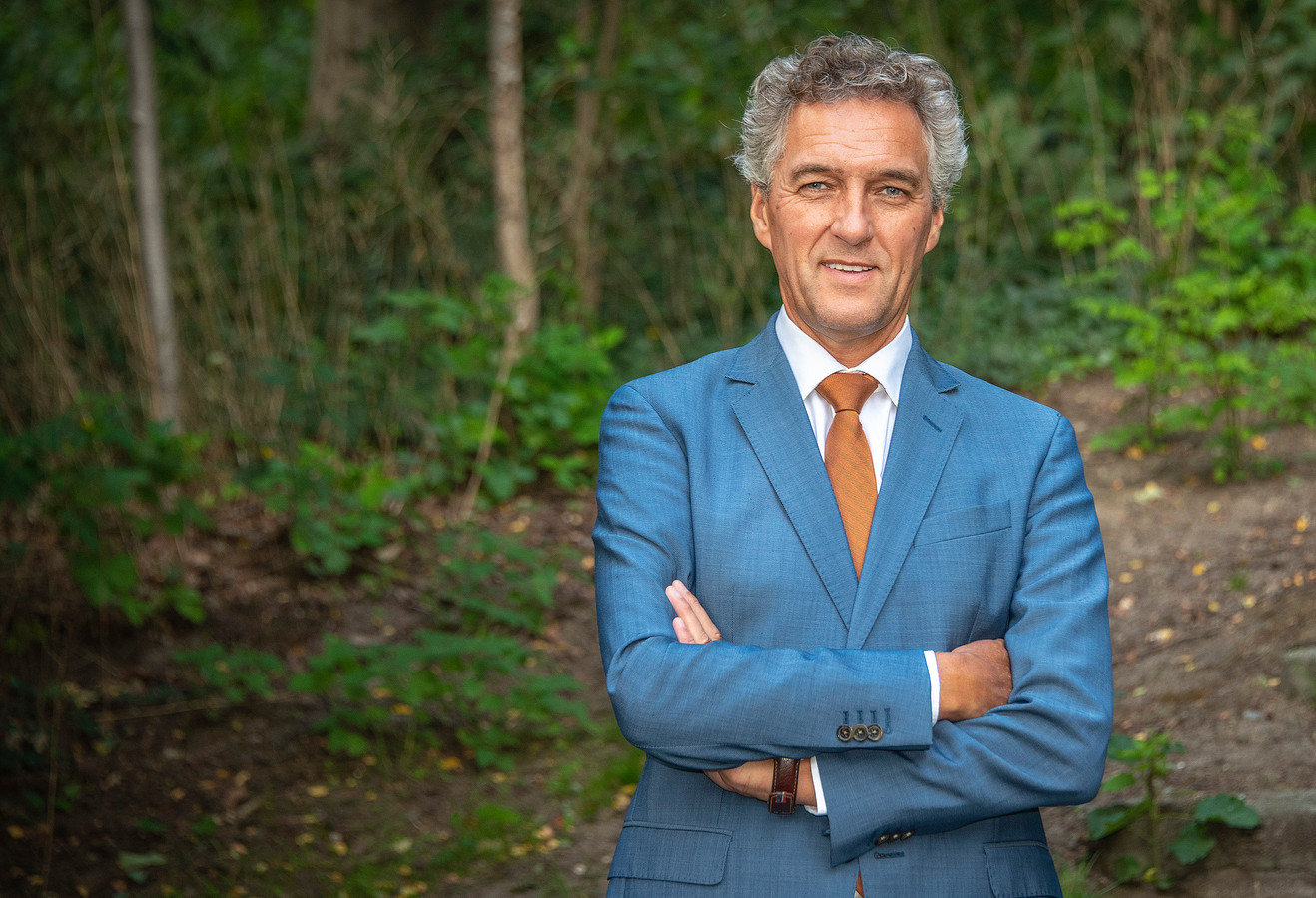 Hans Teunissen (57), de nieuwe burgemeester van Gennep.
