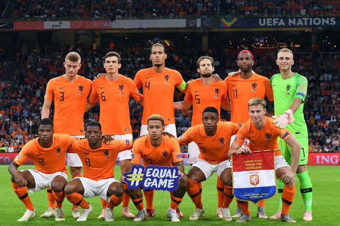 Oranje voor het duel met Duitsland in de Johan Cruijff Arena.