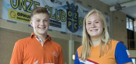 Kari (16) en Stan (14) uit Oldenzaal: geen dag zonder waterpolo