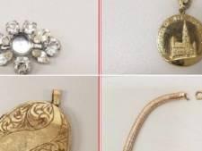 Herken je deze juwelen? Politie vindt reeks sieraden in gestolen wagen en gaat op zoek naar eigenaars