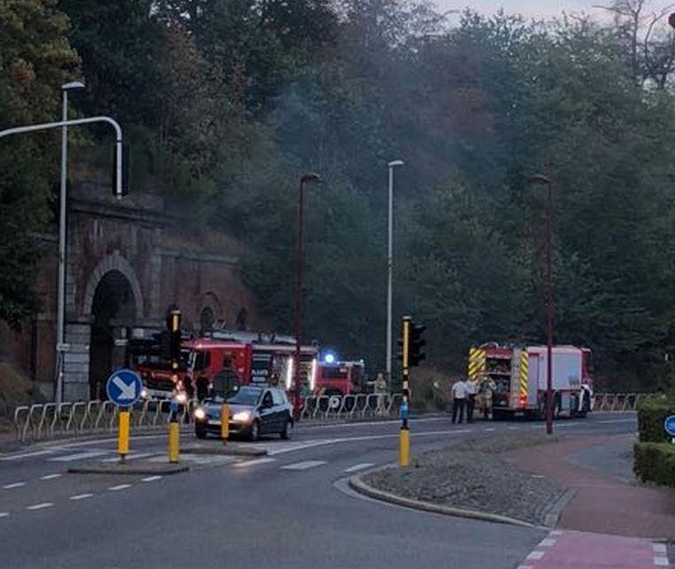 De brandweer kwam ter plaatse en had de brand snel geblust.