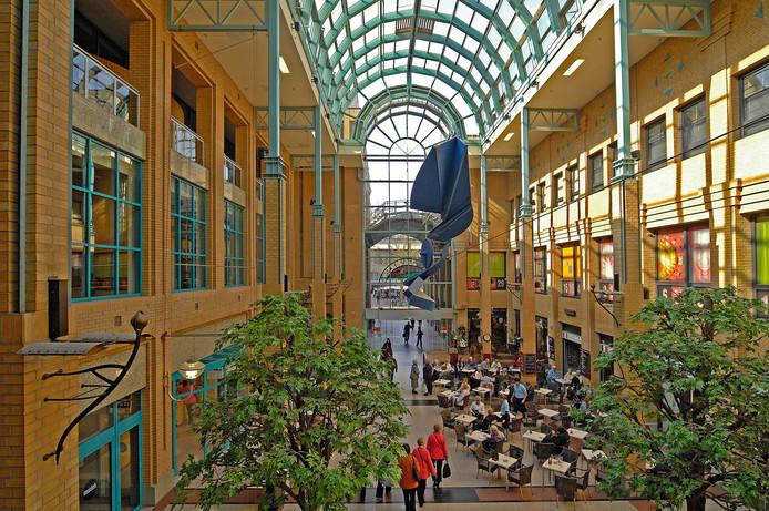 Winkelcentrum Heuvel in hartje Eindhoven.