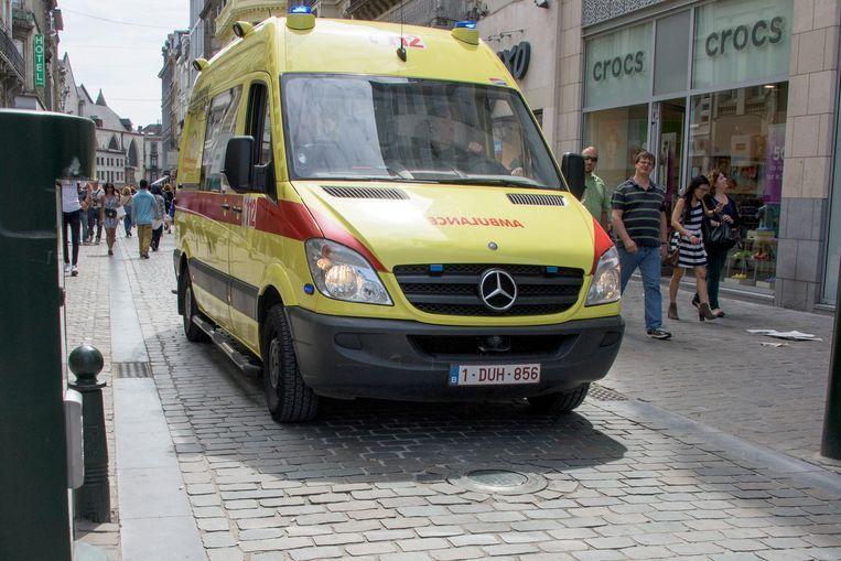 Illustratie: ziekenwagen