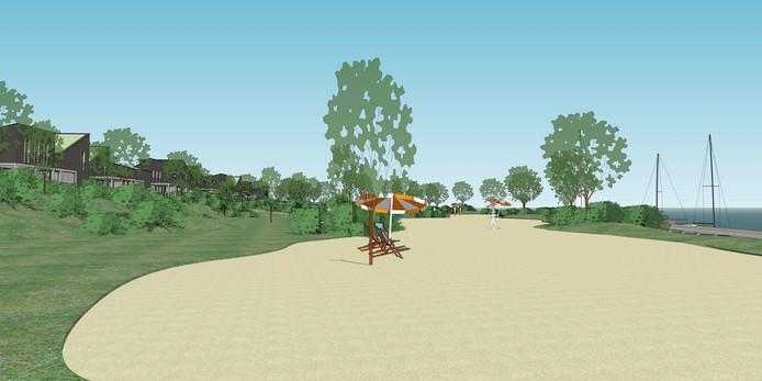 De Hitsertse Kade moet een plek worden met een mix van woningen en waterrecreatie.