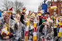 Carnaval  op het Bossche Stationsplein.
