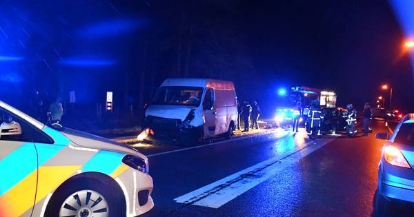Ernstig verkeersongeluk in Den Ham.