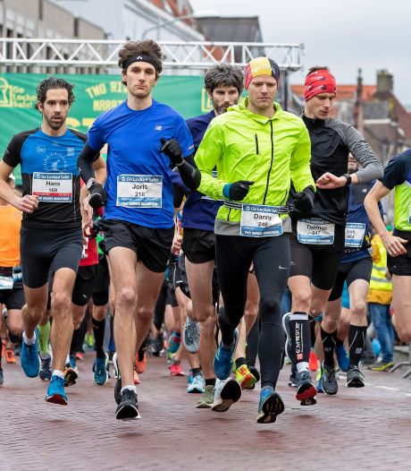 Vaste routepaaltjes Two Rivers Marathon