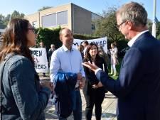 Schoolbestuur betreurt actie Viruswaarheid: 'Demonstratie tegen mondkapjesplicht is een voltreffer midscheeps'