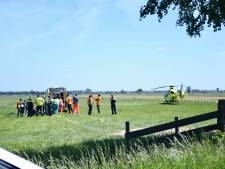 Paraglider stort neer in Schalkwijk en raakt gewond