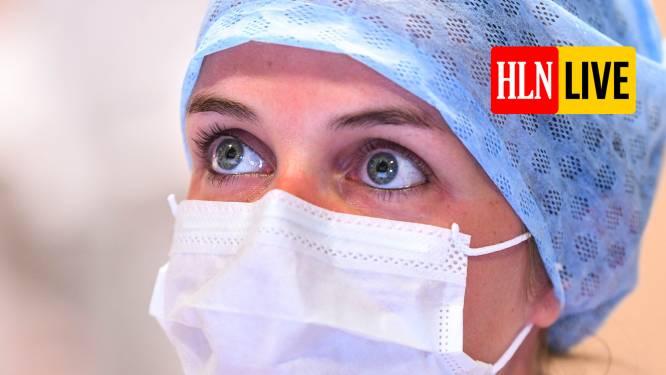 OVERZICHT. In één dag bijna 600 nieuwe coronapatiënten opgenomen in ziekenhuis