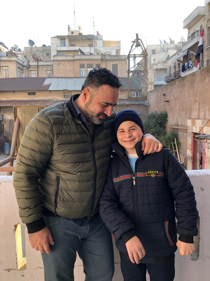 Sinan met Rasim in Aleppo.