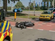Scooterrijder gewond bij ongeluk in Dordrecht