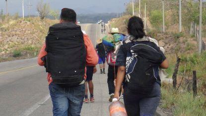 Dit is de 'karavaan' migranten waar Trump al dagenlang een Twitterstorm over voert