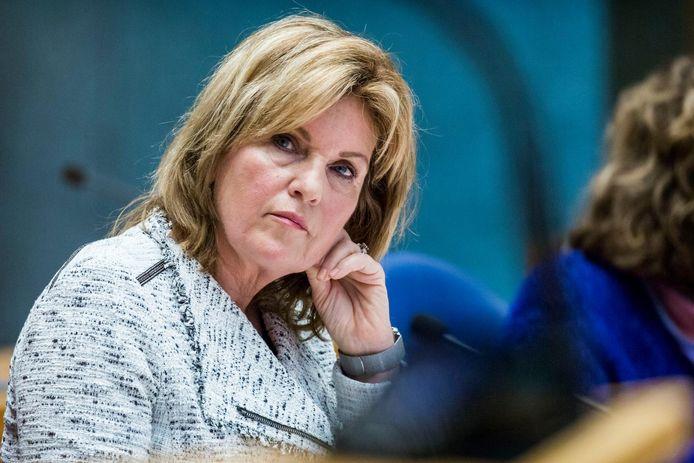 Kamerlid Pia Dijkstra (D66)