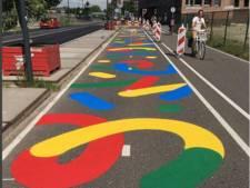 In Breda kun je straks fietsen over kunst