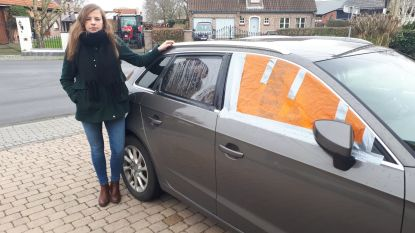 """Sandrien werd aan tramterminus twee keer slachtoffer van auto-inbraak op week tijd: """"Ik parkeer mijn wagen voortaan wel op andere plaats"""""""