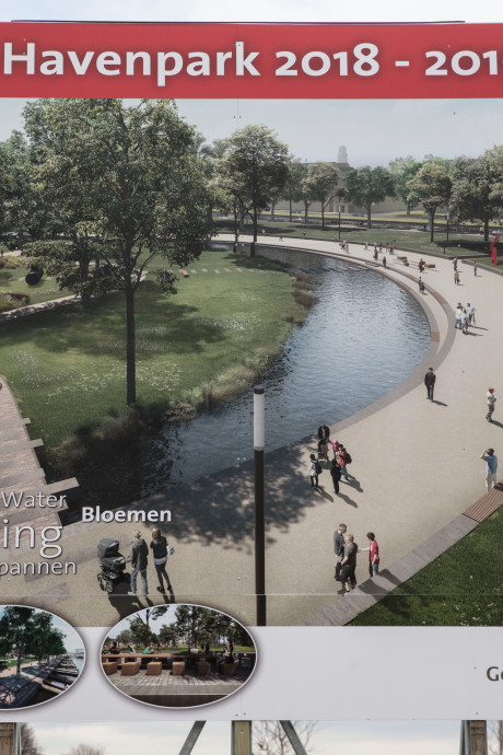 Werk aan Havenpark Helmond van start
