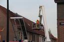 De woningbrand in Deventer.