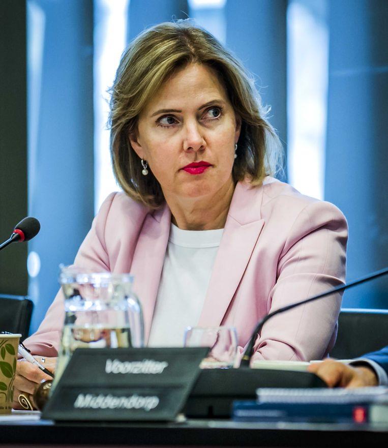 Cora van Nieuwenhuizen, minister van Infrastructuur en Waterstaat, 'de afhoudende reactie van minister Van Nieuwenhuizen was voorspelbaar en teleurstellend'. Beeld ANP