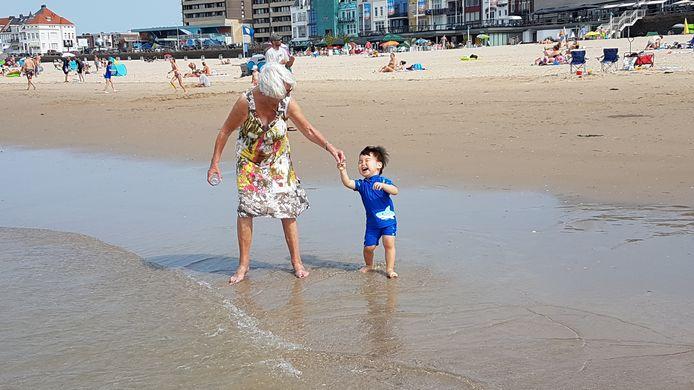 Lekker weer samen naar het Vlissingse strand!