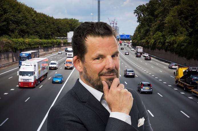 Columnist Jerry Goossens schrijft over de verbreding van de A27 en A12 bij Amelisweerd.
