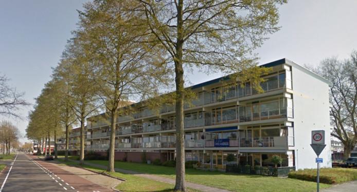 De flats in Hoogeveen