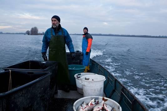 De laatste beroepsvisser van Oost-Nederland, expositie van Michael Rhebergen in de Gasfabriek in Deventer.