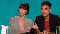 """Lize Feryn en Aster Nzeyimana over hun eerste kus: """"Romantisch, zo'n parkeergarage"""""""