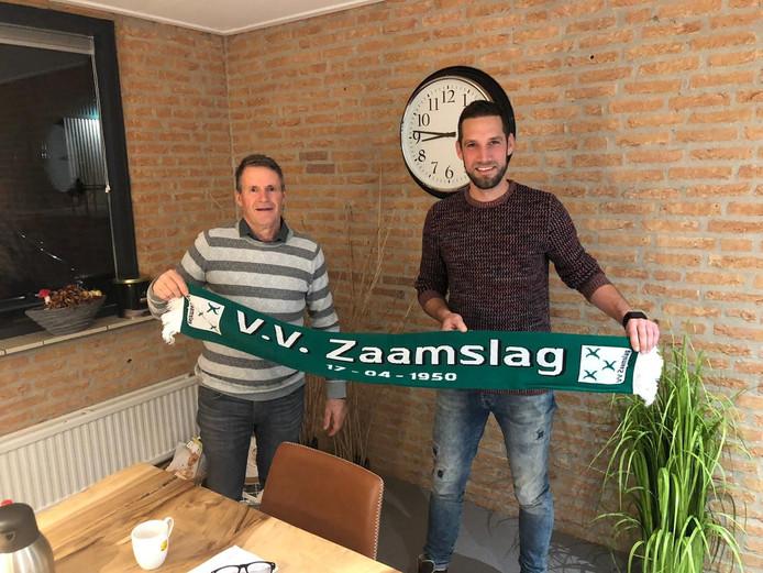Bart Corstanje (rechts) terug bij Zaamslag.