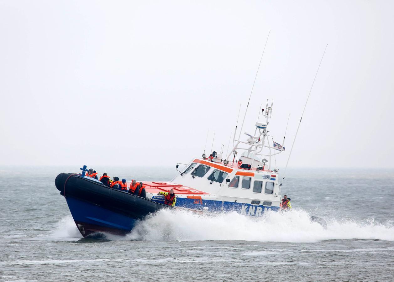 Reddingsboot de Zeemanshoop van de KNRM Breskens.