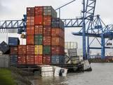 Containerterminals Maasvlakte gesloten wegens storm