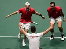 Canada als eerste naar laatste vier bij Davis Cup Finals