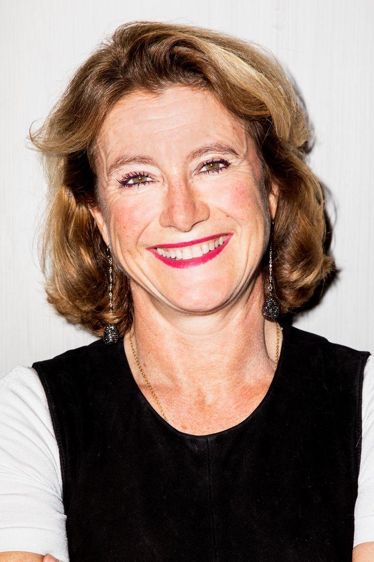 Corinne Vigreux, mede-eigenaar van TomTom en oprichter van Codam. Beeld Marie Wanders