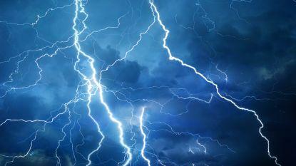Kans op fel onweer en zondvloed in het zuiden van het land
